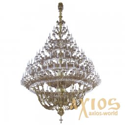 Chandelier, 7 tired, 139 candles С 03-139-7 - фото