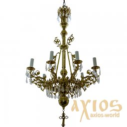 Chandelier, 1 level, 9 candles,  С 02-9-1 - фото