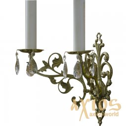 Sconce, 2 candles, С 01-2 - фото