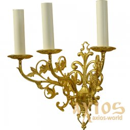 Sconce, 3 candles, C 01-3 - фото