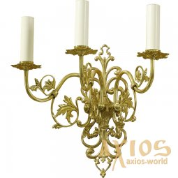 Sconce, 3 candles, С 10-3 - фото