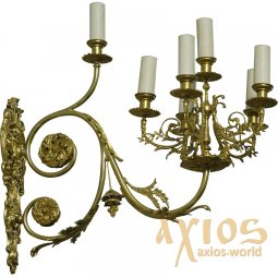 Sconce, 7 candles, С 11-7 - фото