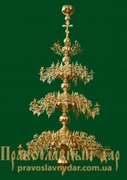 The 3 tiered chandelier 36 candles - фото