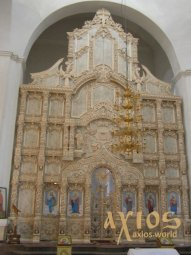 Iconostasis number 46 hand carving, Baroque, 7x10 meters - фото