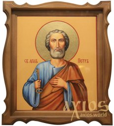 Holy Apostle Peter, 35x31 cm (size with kiot) - фото