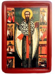 Icon Of St. Basil The Great  - фото