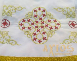 Inner Rason, embroidery with gold and red threads - фото