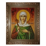 The Amber Icon The Holy Martyr Antonina of Nicaea 40x60 cm