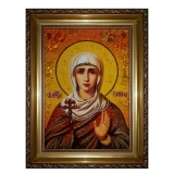 Amber Icon Holy Martyr Galina 60x80 cm