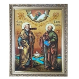 The Amber Icon The Holy Apostles Peter and Paul 30x40 cm