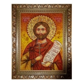 The Amber Icon The Holy Martyr Nazary The Roman 30x40 cm