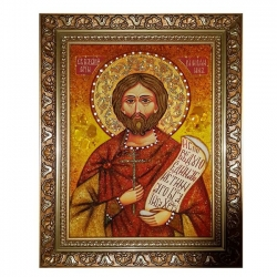 The Amber Icon The Holy Martyr Nazary The Roman 30x40 cm - фото