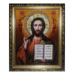 Amber Icon Lord Almighty 40x60 cm - фото