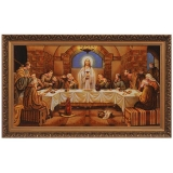 Amber Icon of the Last Supper 40x60 cm