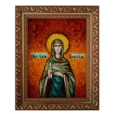 Amber Icon of St. Mary of Bethnhem 40x60 cm