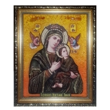 Amber Icon of the Blessed Virgin Relentless Help 40x60 cm