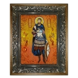 The Amber Icon The Holy Martyr Savel 40x60 cm