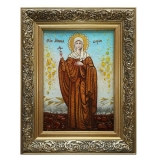 Amber Icon Holy Martyr Darya of Rome 40x60 cm