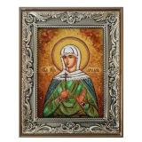 The Amber Icon of Saint Ariadne 30x40 cm