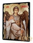 Icon under the antiquity Archangel Michael with gilding 30x42 cm