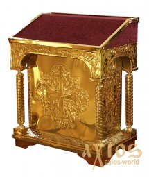 Church Lectern central coinage 85x55x105 cm, non-separable - фото