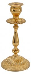 Candlestick table №2, with varnishing - фото