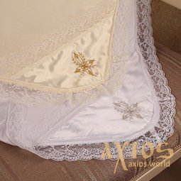 Christening Blanket  Tenderness Milky - фото