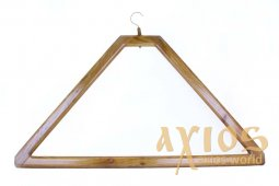 Clothes hanger for wooden clothes 50х90 cm - фото