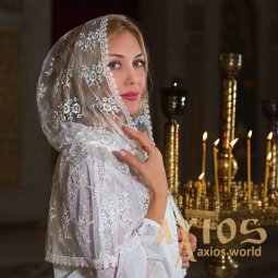 Mantilla Kapor Isolde milk color (s104-700) - фото