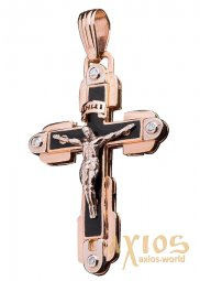Neck Cross, gold 585, O 270072E - фото
