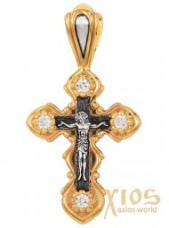 The Crucifixion of Christ. Orthodox Cross, PD007005 - фото