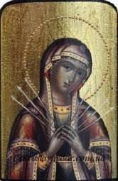 The Seven Arrows Icon of the Mother of God - фото