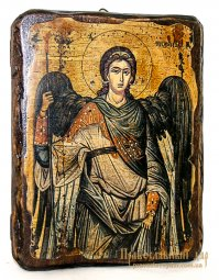 Icon Antique Holy Archangel Michael 13x17 cm - фото