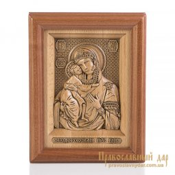 Carved icon of the Theotokos Theodore - фото