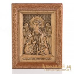 Carved icon of the Holy Guardian Angel - фото