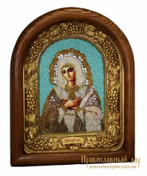 Icon of beads of the Holy Theotokos Tender emotion - фото