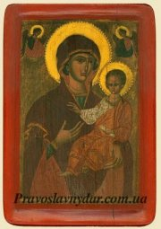 Krasovskaya icon of the virgin Hodegetria (XV century) - фото