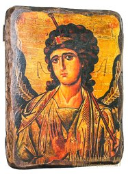 Icon Antique Holy Archangel Gabriel 30x40 cm - фото