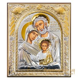 Icon Holy Family 15x18 cm Greece - фото