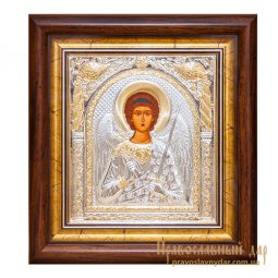 Icon of the Holy Guardian Angel 23x26 ​​cm Greece - фото