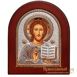 Icon of Christ Pantocrator 8x10 cm (arch) Greece - фото
