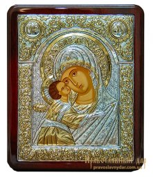 Icon of the Holy Mother of God of Kazan 19x25 cm Greece - фото