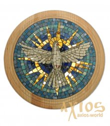 Icon of a mosaic of the Holy Spirit - фото