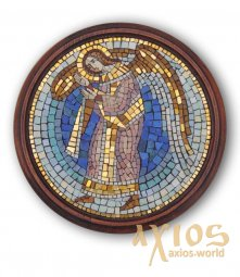 Icon of mosaic Guardian Angel - фото