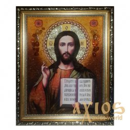 Amber Icon Lord Almighty 20x30 cm - фото