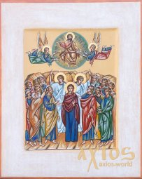 Icon Ascension of the Lord see 30x37,5 - фото