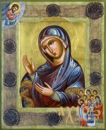 Icon of the Most Holy Theotokos Healer 30x37.5 cm - фото