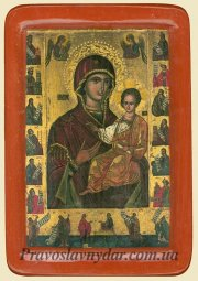 Icon of The Virgin Hodegetria of Belz - фото