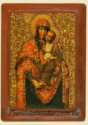 Icon of Praying Virgin (XVI century) , (XVIII century) Kiev - фото