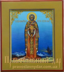 Icon of The Holy Hieromartyr Peter, Archbishop of Alexandria - фото